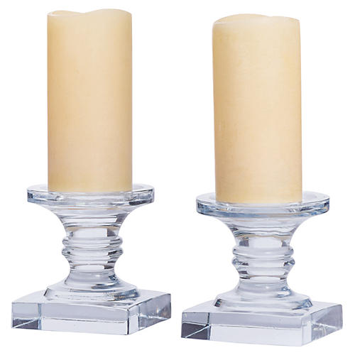 S/2 Eleanor Pillar Holders
