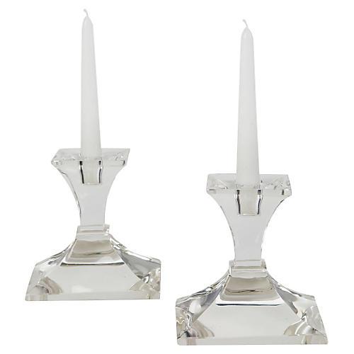 S/2 Monticello Candlesticks