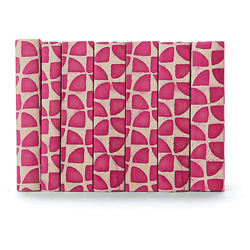 Linear Foot of Pinwheel Books, Pink