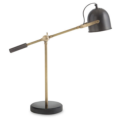Darwin Table Lamp, Gold