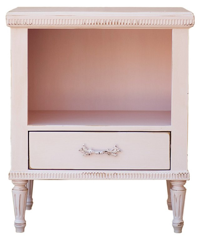 St. Andrew's Side Table, Pink