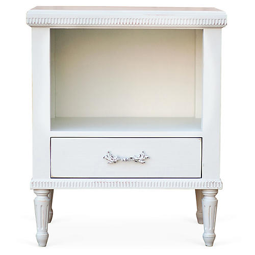St. Andrew's Side Table, White