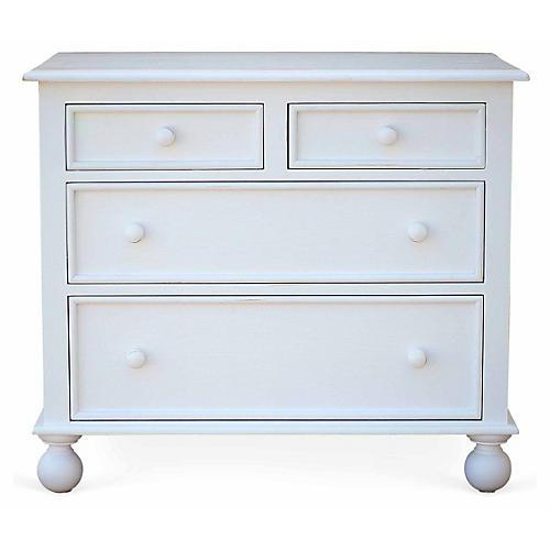 Beside-the-Sea Dresser, White