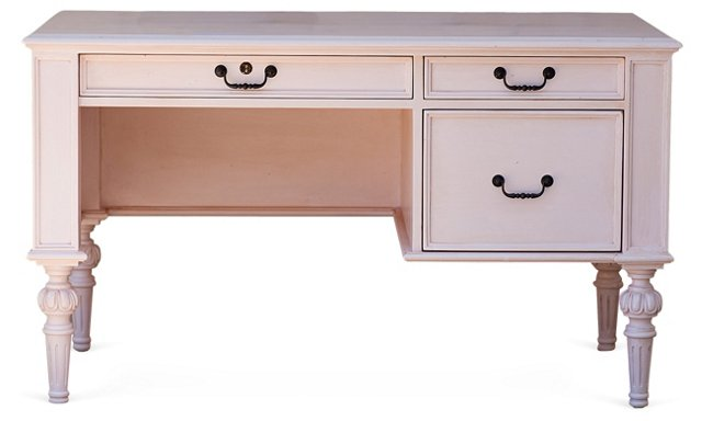 Jules Cambridge Petite Desk, Pink