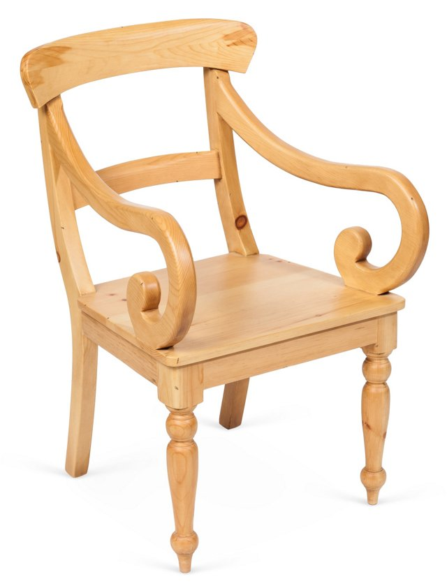 Cathleen Armchair, Natural
