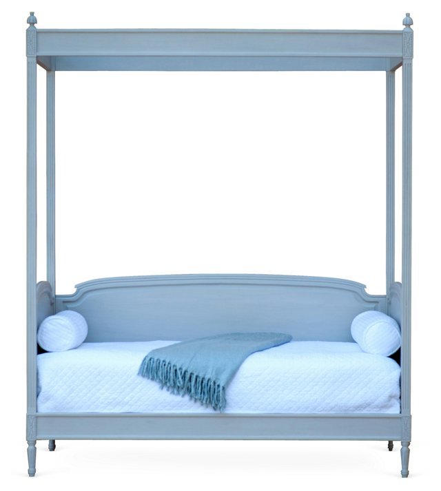 Gray St. Andrew's Canopy Daybed, Twin