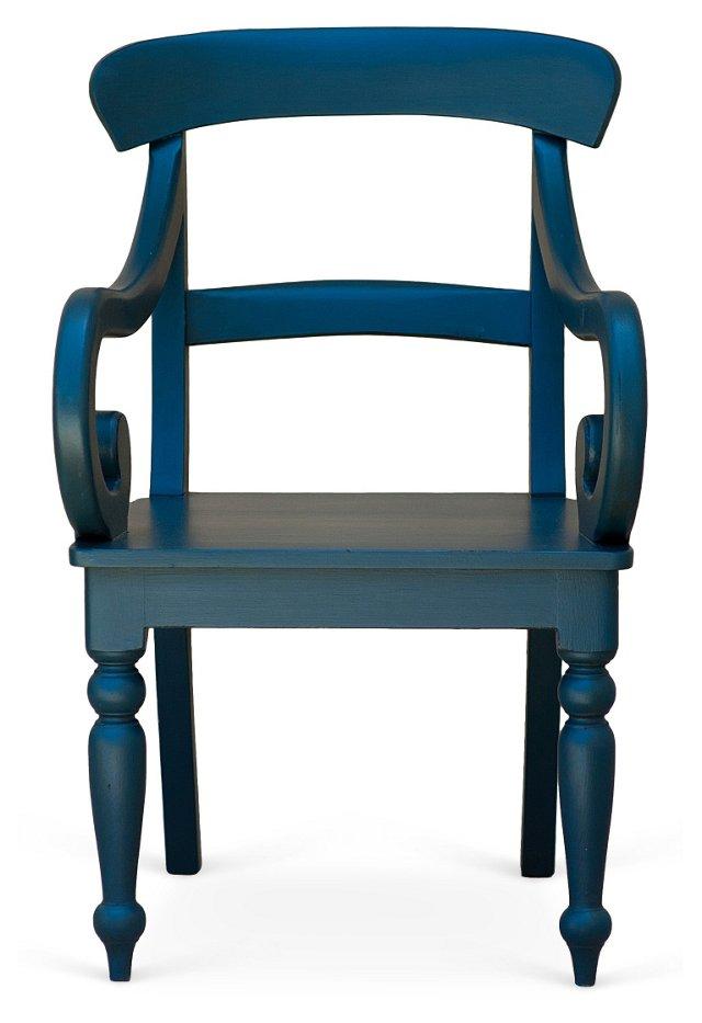 Cathleen Armchair, Blue