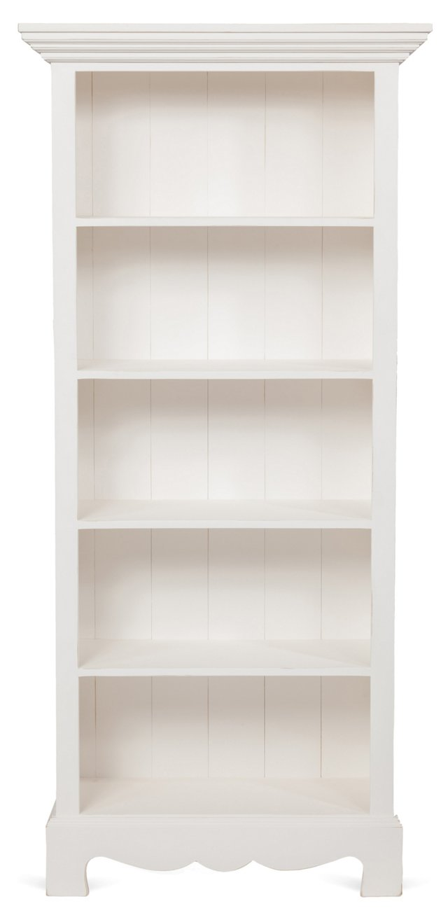 Beach House Bookcase, White