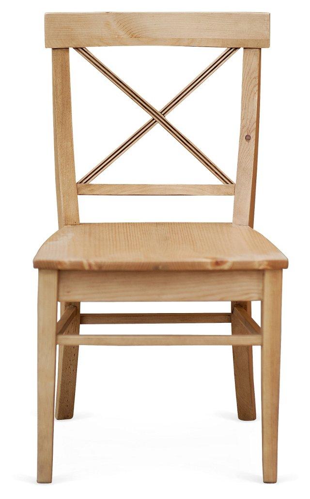 Hampton Side Chair, Natural