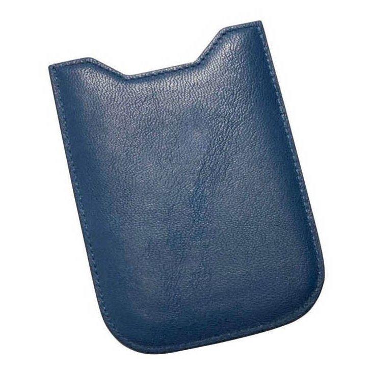 Leather iPhone 4/4S Sleeve, Indigo