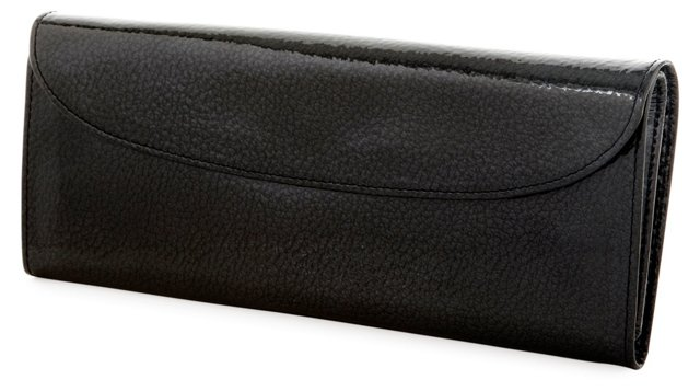 Large Jewelry Roll, Black