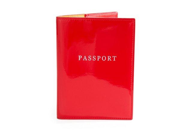 Passport Holder, Red