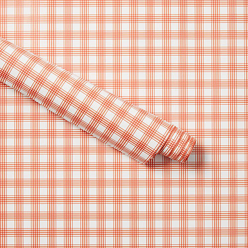 Vintage-Style Plaid Wrapping Paper