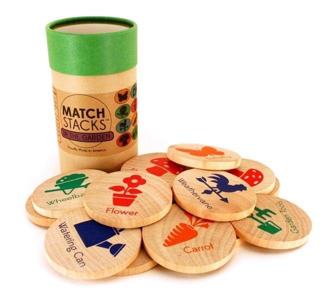 MatchStacks Memory Game, In The Garden