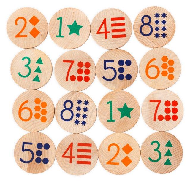 MatchStacks Memory Game, Numbers
