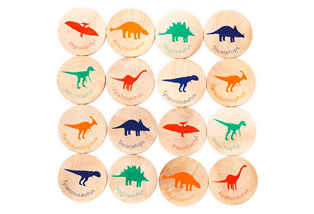 MatchStacks Memory Game, Dinosaurs