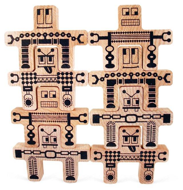 Whoa-Bots Kit, Natural