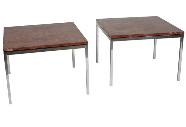 Florence Knoll Occasional Tables, Pair