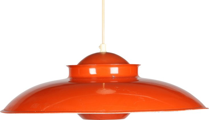 1960s Scandinavian Light Fixture