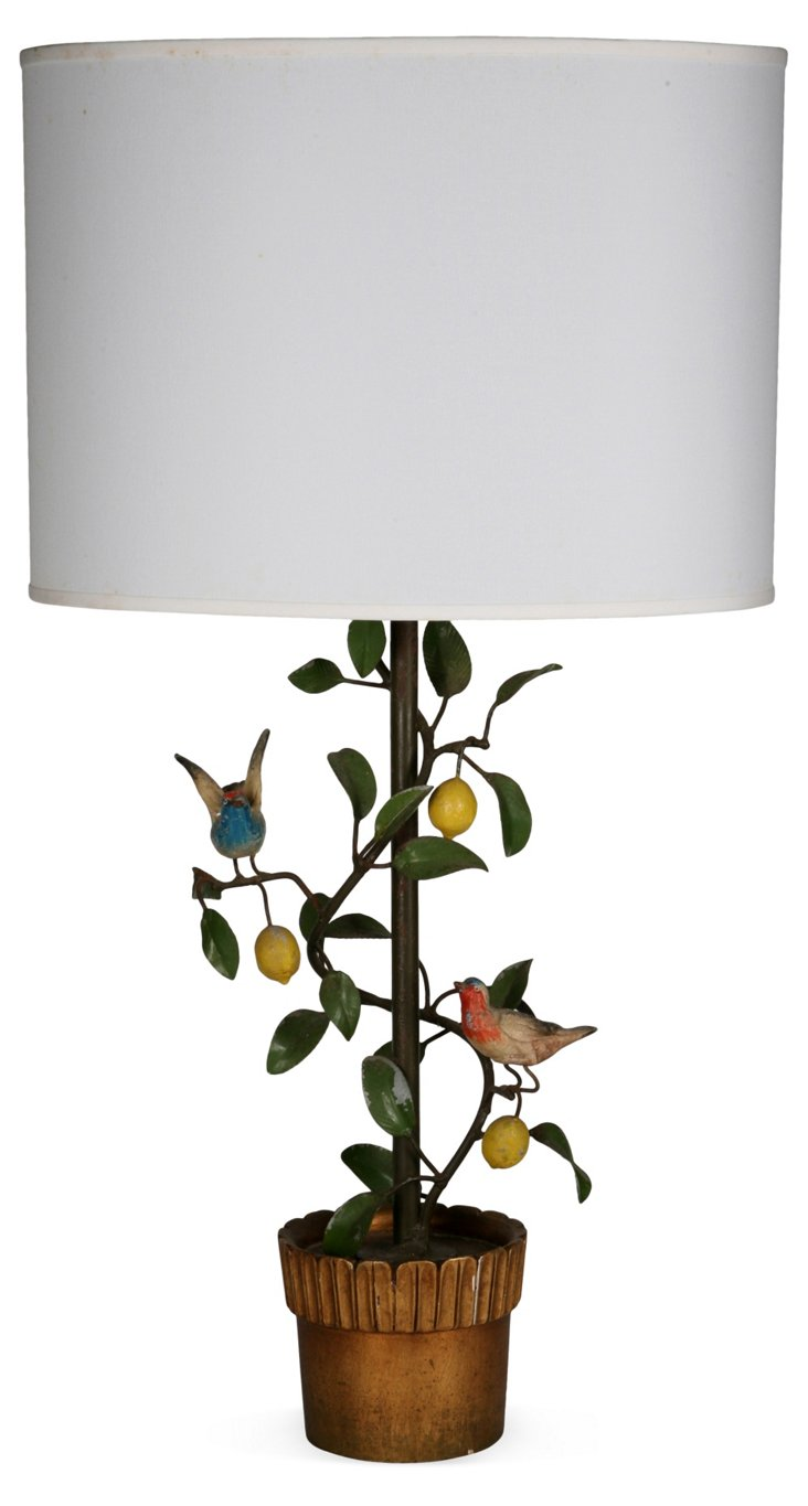 Tree & Bird Table Lamp