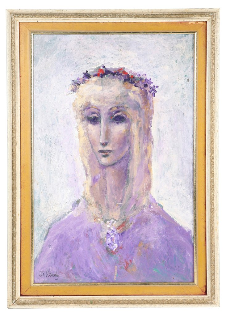 J.R. Kennedy Purple Portrait