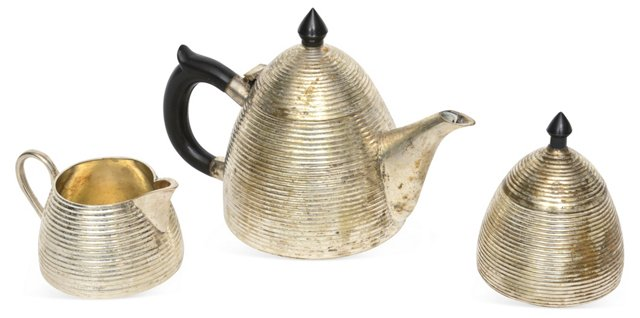 Beehive Tea Set, 3 Pcs.