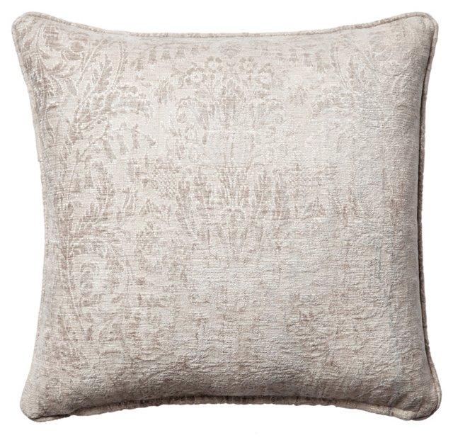 Astoria Sterling 18x18 Pillow, Gray