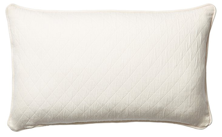 Caymus 12x20 Cotton Pillow, Natural