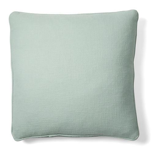 Charleston 18x18 Cotton Pillow, Green