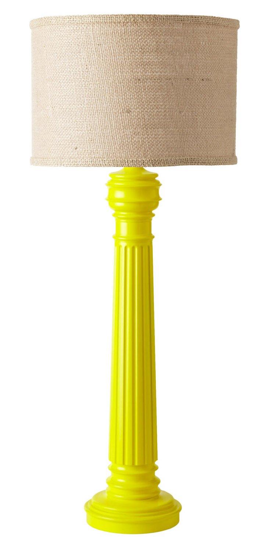Half-Hitching Post Lamp, No Scurvy Lemon