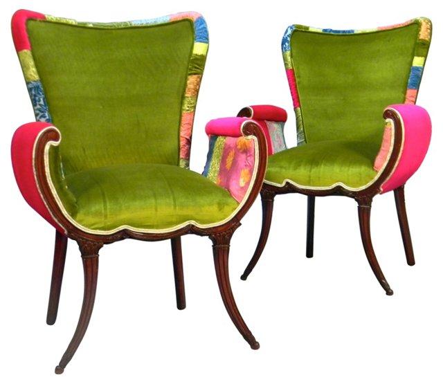 Manhattan Chairs, Pair