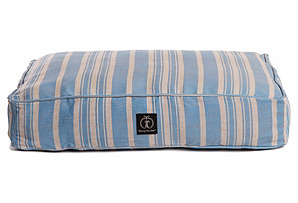 Small Blue Classic Stripe Bed*