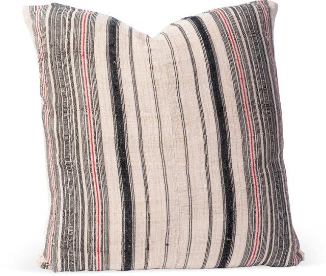 Striped Hemp Pillow