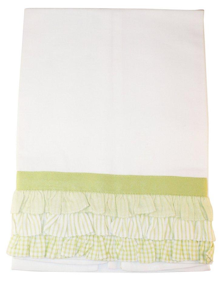 Calypso Tip Towel, Mint Green
