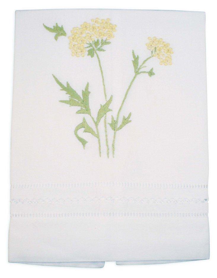 Muriel Tip Towel, Yellow
