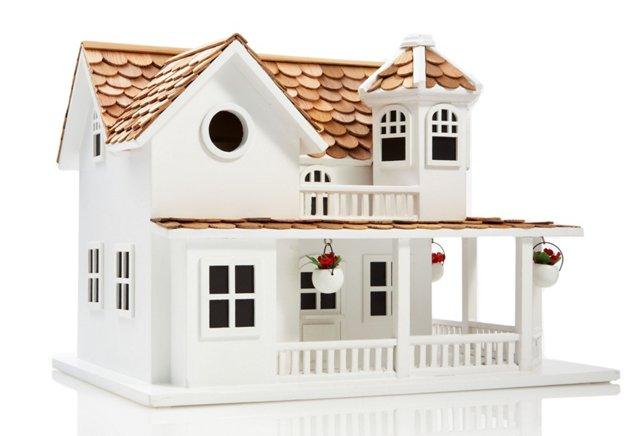 Townhouse Birdhouse