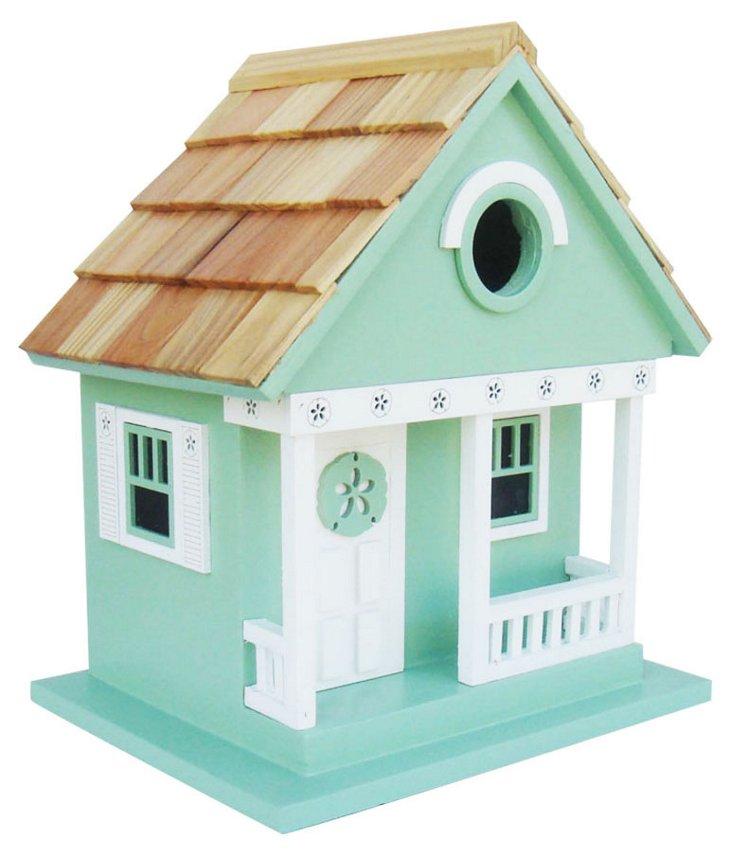 """9.5"""" Sand Dollar Birdhouse"""