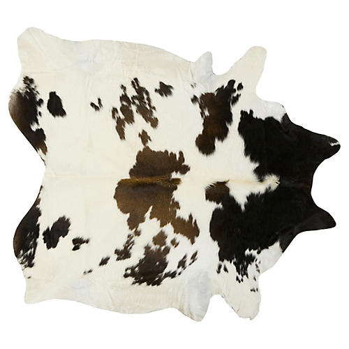 Natural Hide, White/Multi