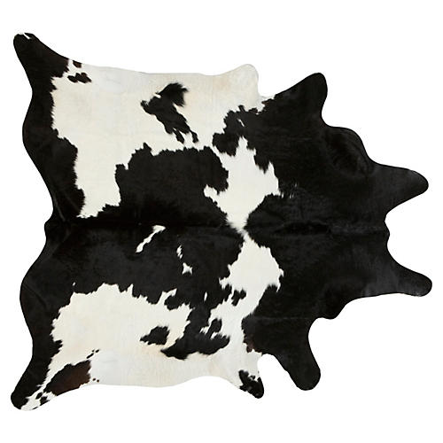 Natural Hide, Black/White