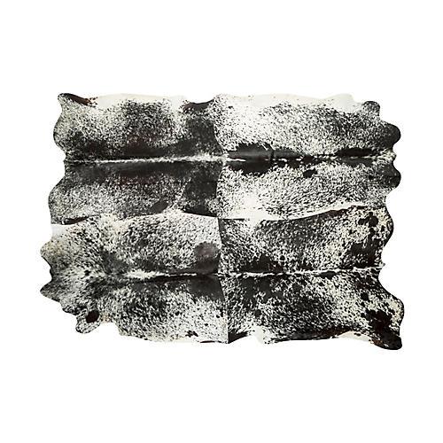 10'x11' Akila Hide, Black/White