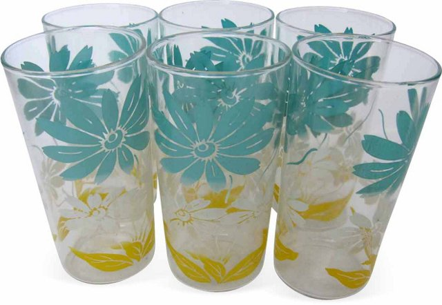 Daisy Tumblers, Set of 6
