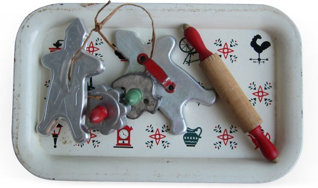 Holiday Cookie Set, 6 Pcs.