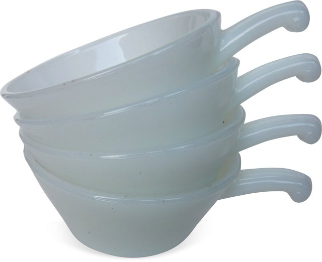 Fire King Bowls, Set of 4