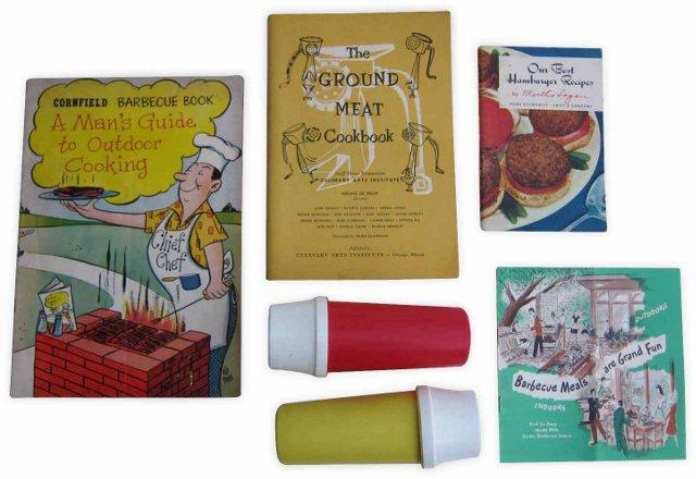 Ketchup, Mustard & Meat Set, 5 Pcs.