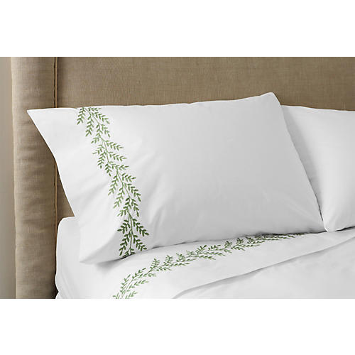 Willow Sheet Set, Green