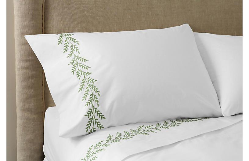 Willow Sheet Set, Green