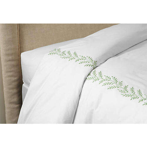 Willow Duvet, Green