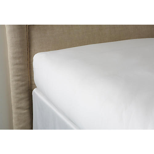 Fitted Sheet, White