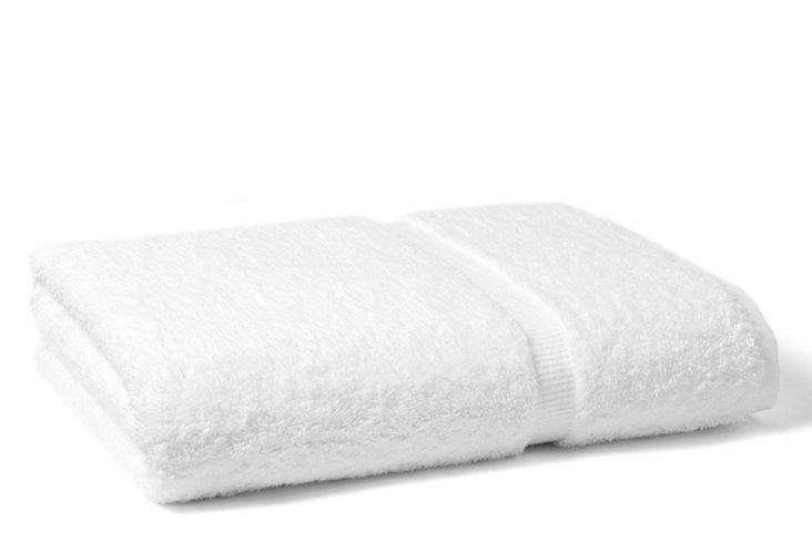 Countess Bath Towel, White
