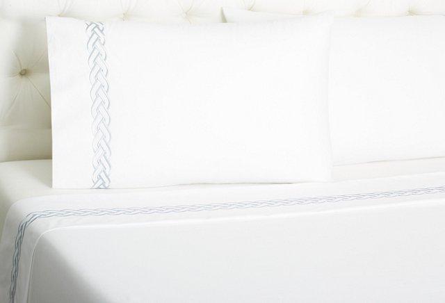 Braid Sheet Set, Gray
